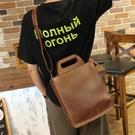 男包 手提包豎款商務公文男士包包休閒男包皮包簡約 黛尼時尚精品