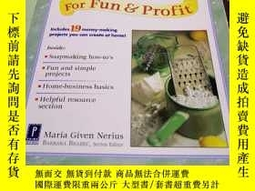 二手書博民逛書店Soapmaking罕見For Fun Profit(爲了有趣的