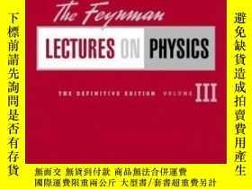 二手書博民逛書店【罕見】The Feynman Lectures On Physics, The Definitive Editi