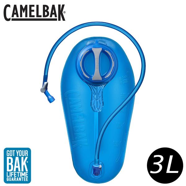 【CamelBak 美國 Crux 3L 快拆水袋《藍》】1228401003/背包補水系統/運動水壺/不含BPA/馬拉松/三鐵