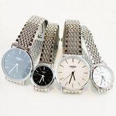情侶手錶超薄鋼帶防水非機械石英錶 RB-13