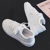 休閒鞋 2020夏季新款夏款透氣小白鞋女韓版學生百搭帆布潮鞋白鞋休閒板鞋 【Ifashion·全店免運】