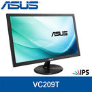 【免運費】ASUS 華碩 VC209T 20型 IPS-LED 不閃屏低藍光顯示器 / DVI-D & D-SUB