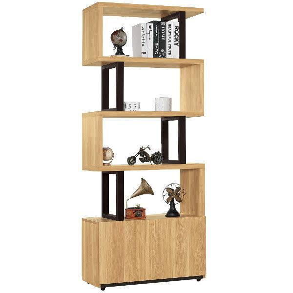 鞋櫃 隔間櫃 屏風鞋櫃 QW-476-3 費德勒2.64尺雙面櫃【大眾家居舘】