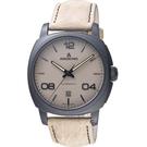 Anonimo EPURATO義式經典機械腕錶-沙漠灰/42mm