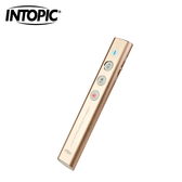 【INTOPIC 廣鼎】2.4GHz 無線雷射簡報筆(MS-LR27) / 金色