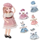 31公分芭比娃娃純衣服配件-多關節可動換裝娃娃公主衣服 洋裝-JoyBaby