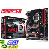 [美國直購] Gigabyte 主機板 LGA1151 Intel Z170 ATX DDR4 Motherboards GA-Z170X-Gaming 3