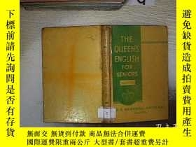 二手書博民逛書店THE罕見QUEEN S ENGLISH FOR SENIORS 女王老年英語Y261116