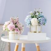 小盆栽干花花束仿真假花家居客廳裝飾擺件茶幾桌面娟花藝擺設 布衣潮人