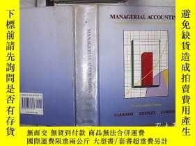 二手書博民逛書店Managerial罕見Accounting:First Canadian Edition 管理會計 加拿大第一版