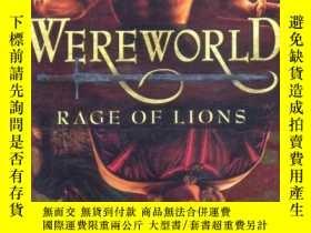 二手書博民逛書店憤怒的獅子罕見Werworld:rage of lions 平裝