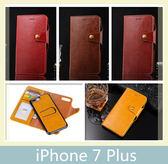 iPhone 7 Plus (5.5吋) 瘋馬紋分離手機殼+皮套 二合一 插卡 支架 磁扣 手機套 保護殼 手機殼 皮套