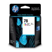 HP 原廠彩色墨水匣 C6578DA 78號 適用 HP Deskjet 1180c/1220c/1280/920c/9300/970cxi/990cxi