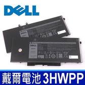 DELL 戴爾 3HWPP 4芯 原廠電池 電壓 15.2V 容量 4250mAh/68WH