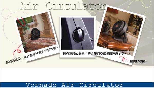 (享好康)【VORNADO 沃拿多】渦流空氣循環機 循環扇 (白色) 530W