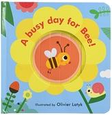 【麥克書店】A BUSY DAY FOR BEE!/硬頁操作書《表情遊戲書》