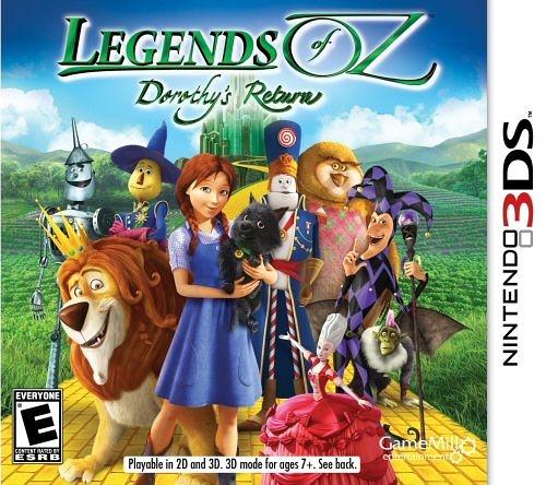 3DS Legends of Oz: Dorothy s Return 綠野仙踪:多蘿西的回報(美版代購)