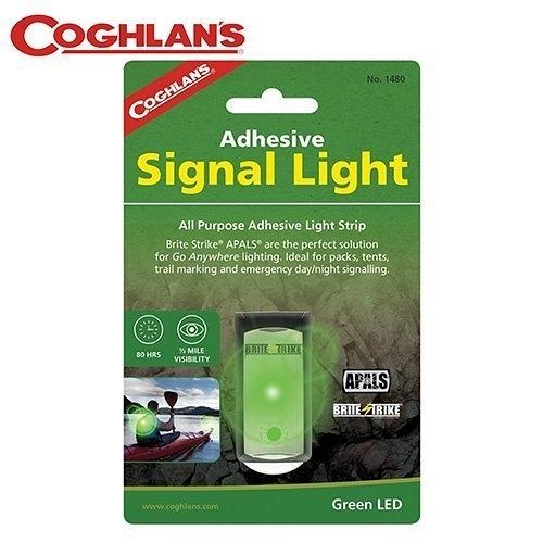 丹大戶外【Coghlans】加拿大 ADHESIVE SIGNAL LIGHT 閃光警示燈 綠光 1480