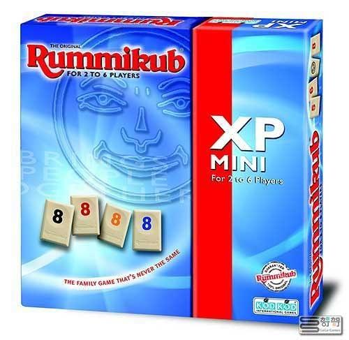 【哿哿】拉密(以色列麻將)六人旅行版 Rummikub XP mini- 中文正版桌遊《熱門益智遊戲》中壢可樂農莊
