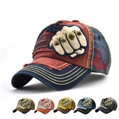 男帽 棒球帽 塗鴉 拳頭 鉚釘 骷髏頭 運動 遮陽 防曬 鴨舌帽 棒球帽