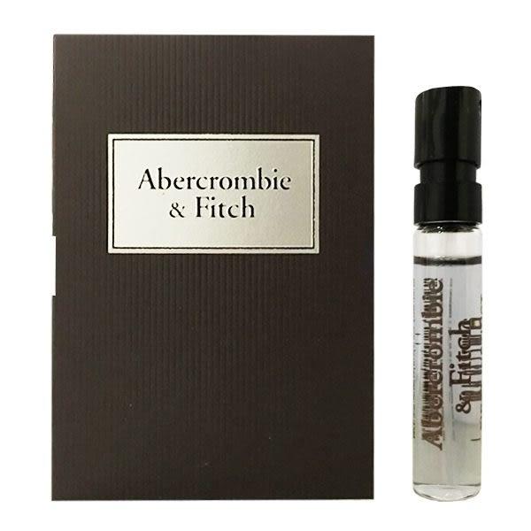 ABERCROMBIE & FITCH A&F 同名經典男性淡香水 2ml 針管 (13245)【娜娜香水美妝】