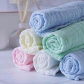 口水巾 新生嬰兒口水巾超柔六層純棉紗布吸水寶寶洗臉專用夏季薄款小方巾【寶媽優品】