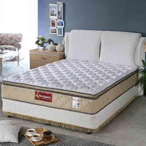 舒伯特606三線乳膠1088調溫獨立筒床墊單人標準3.5*6.2尺
