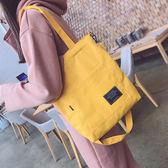 (全館一件免運)DE shop~(RD-5601)韓國原宿帆布包單肩斜包購包袋
