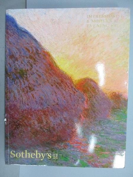 【書寶二手書T6/收藏_FJT】Sotheby s_Impressionist&…Evening Sale_20