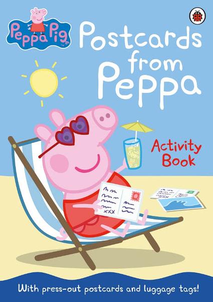 Peppa Pig:Postcards From Peppa 佩佩豬的明信片 活動平裝本