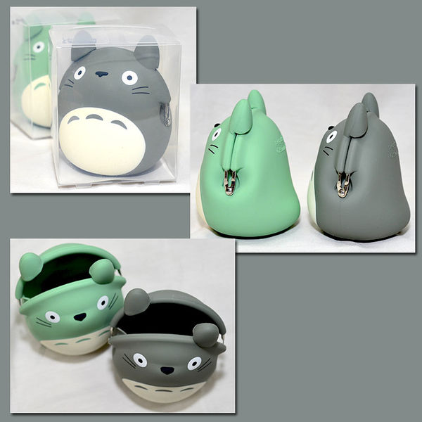 TOTORO 龍貓造型 矽膠零錢包 mimi POCHI 日本正版