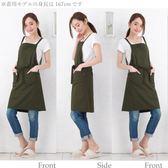 [佑祐時尚] 日式時尚工作圍裙 咖啡廳 美甲店 飲料店 烘培店 圍裙 民宿 工作圍裙