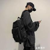 初中生書包韓版原宿ulzzang中學生ins電腦背包男雙肩包女時尚潮流 極簡雜貨