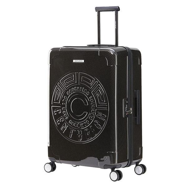 【CENTURION百夫長】拉鍊款29吋U_O_MCO奧蘭多黑行李箱