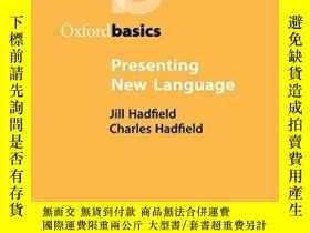 二手書博民逛書店Presenting罕見New LanguageY364682 Hadfield, Jill  Hadfiel