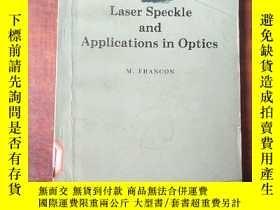 二手書博民逛書店laser罕見speckle and applications in optics(P3328)Y173412