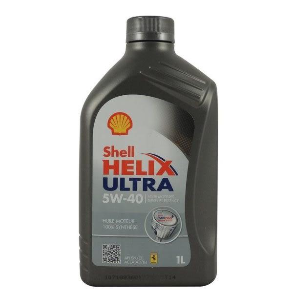 【SHELL】5w40 HELIX ULTRA 5W-40 殼牌 全合成