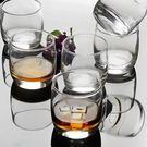 6只裝圓形威士忌酒杯洋酒杯玻璃杯啤酒杯烈酒杯水杯 年尾牙提前購