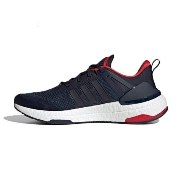 Adidas EQUIPMENT+ 男款深藍紅色運動慢跑鞋 H02755