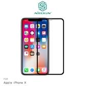 APPLE iPhone X NILLKIN XD CP+ MAX 滿版玻璃貼 疏油疏水 9H硬度 螢幕玻璃保護貼 滿版保護貼