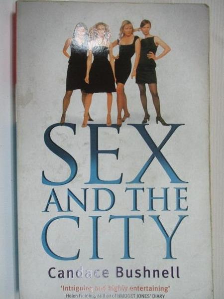【書寶二手書T1/原文小說_C8F】Sex and the City_白底4人