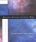 二手書博民逛書店 《Research Methods for Social Work》 R2Y ISBN:0534250297│Wadsworth Publishing Company