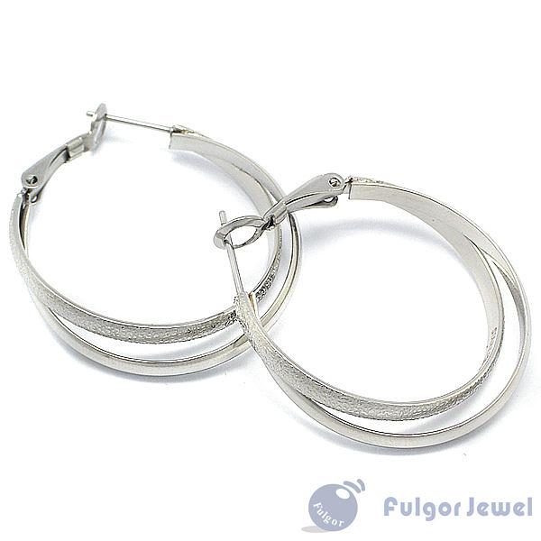 316西德鋼 鋼飾 流行飾品 316 西德鋼 耳環 耳針卡扣式【Fulgor Jewel】