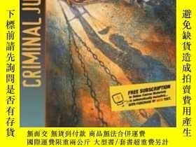 二手書博民逛書店Criminal罕見Justice (with Interactive Companion Website Acc