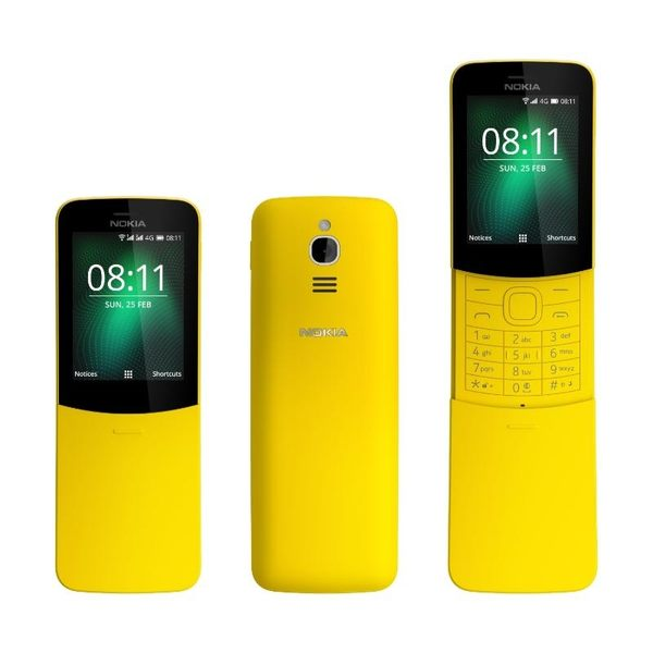 NOKIA 8110 4G 香蕉機【拆封新品】