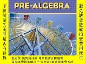 二手書博民逛書店Prentice罕見Hall Math Pre-algebra Student Edition-普倫蒂斯霍爾數學預