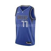 Nike 球衣 Luka Doncic Mavericks 獨行俠 NBA D77 SW 【ACS】 CW3662-489 CW3662-489