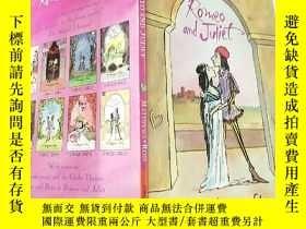 二手書博民逛書店romeo罕見and Juliet 羅密歐與 朱麗 葉....Y200392