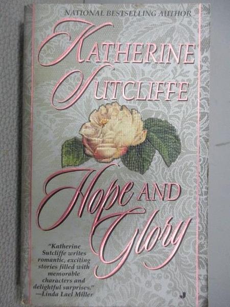 【書寶二手書T5/原文小說_MBK】Hope and Glory_Katherine Sutcliffe